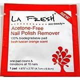 LA Fresh Eco-Beauty Acetone Free Nail Polish Remover Case Pack 200