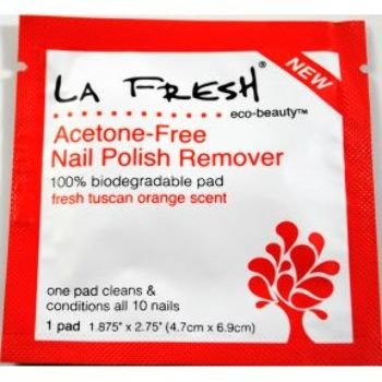 LA Fresh Eco-Beauty Acetone Free Nail Polish Remover Case Pack 200 by La Fresh