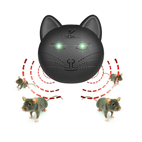 [Rats Repellent -- VODALA Ultrasonic Pest Repeller Control is Really Useful for Getting Rid of Mice Specifically  for Basements, Warehouse, Garages and] (Deluxe Smoke Mask)