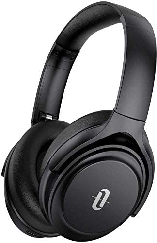 Active Noise Cancelling Headphones, TaoTronics Bluetooth Headphones [2020 Version] Over Ear Headphones 40H Playtime aptX Type-C Fast Charging Bluetooth 5.0 CVC 8.0 Mic for TV PC Cellphone (Renewed)