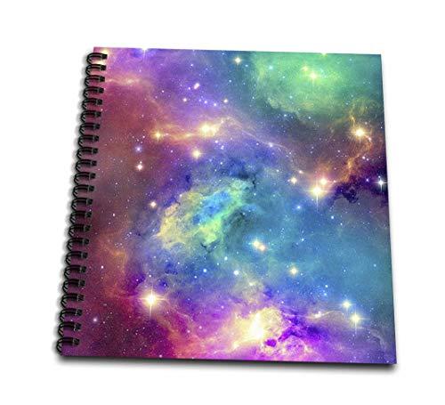 ToryAnneコレクション背景–カラフルなGalaxy–Drawing Book 4 by 4` db_112155_3