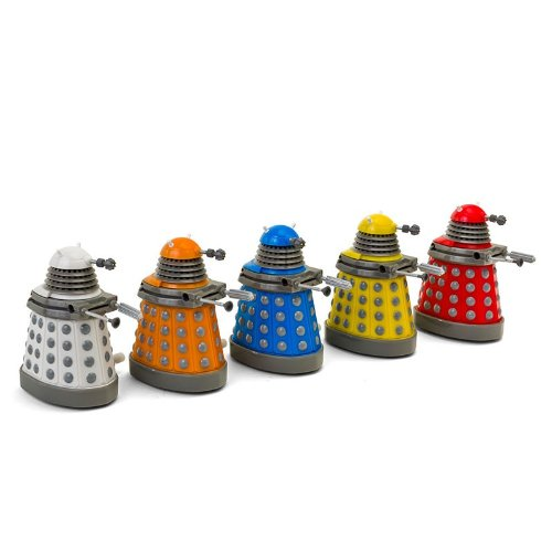 Doctor Who Dalek Wind Up Collector Set of 5
