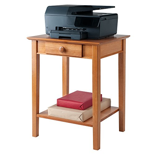 Winsome Wood 99323 Studio Home Office Honey Workpro