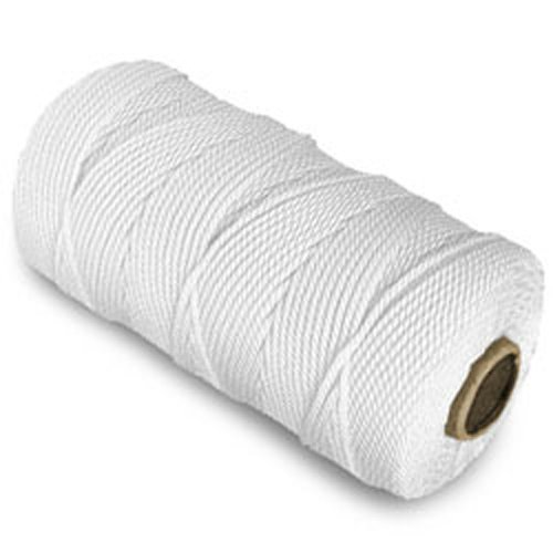 CWC Twisted Mason Twine - #36 x 480', White (Pack of 12 cones)