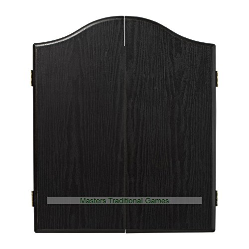 Winmau Darts Set (Black Cabinet, Diamond Dartboard and Darts) by Winmau