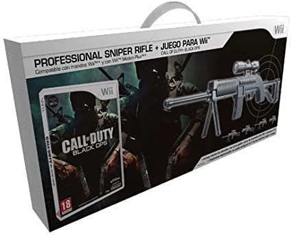 Ardistel - Pack Professional Sniper + Call Of Duty: Black Ops (Nintendo Wii): Amazon.es: Videojuegos