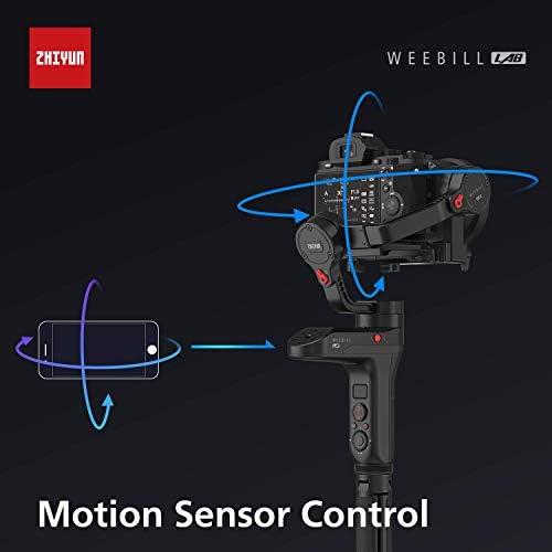 Zhiyun WEEBILL LABハンドヘルドジンバルスタビライザー3軸360度無制限画像伝送用ミラーレスカメラスマートフォン 対応ViaTouch制御システム (WEEBILL LAB Master)