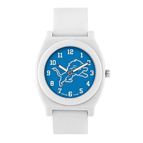 (NFL Detroit Lions Mens Fan Series Wrist Watch, White, One Size)