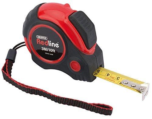 Draper Measuring Tape (Draper Redline 69492 3 m/10 ft Auto Locking Metric/Imperial Measuring Tape by Draper)