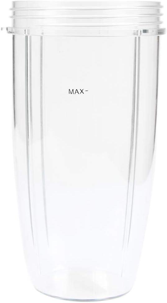 Licuadora de 32 oz, vaso de repuesto para batidora, taza pequeña, accesorio para licuadora Nutribullet Blender 900 W/600 W
