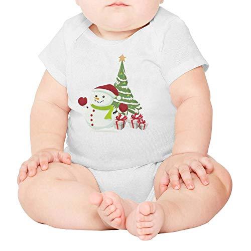 Godfer Arabe.Unisex Short Sleeve Snowman Christmas