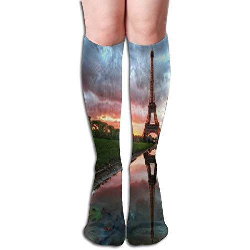 (GREENCLOUD Compression Socks Full HD Wallpaper Soccer Socks Knee High Socks for Running,Athletic,Varicose Veins,Travel,Pregnancy )