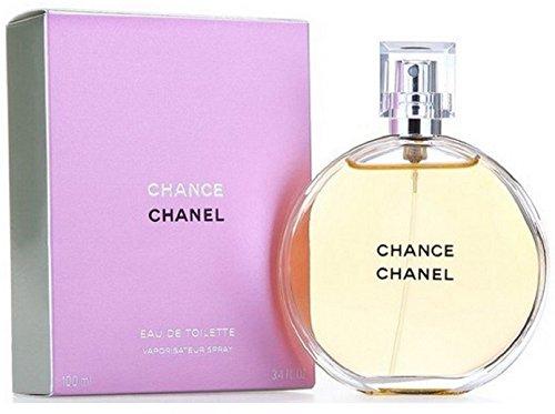 Chânel Chance Eau De Toilette Spray for Woman. EDT 3.4 fl oz, 100 ml