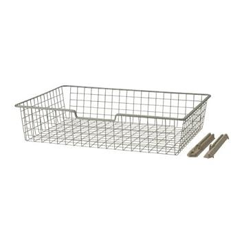 IKEA KOMPLEMENT - Wire basket, beige - 100x58x16 cm: Amazon