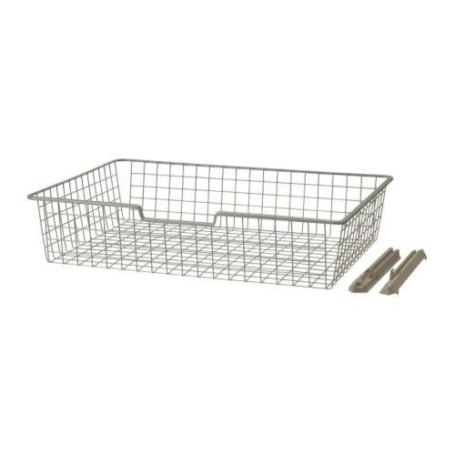 Ikea Komplement Panier De Fil Beige 75x58x16 Cm Amazon