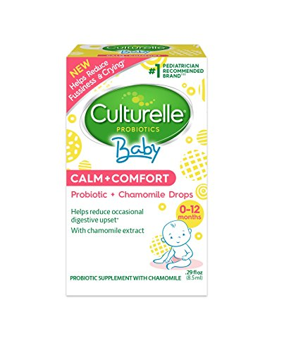Culturelle Baby Calm + Comfort Probiotics + Chamomile Drops | Helps Reduce Occasional Infant Digestive Upset | Helps Reduce Fussiness & Crying*| .29 fl. oz. Probiotic Drops