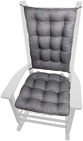Rave Graphite Grey Porch Rocker Cushion