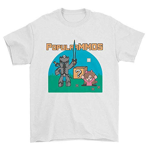 Popularmmos - Gaming with Jen Tshirt White -