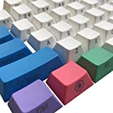Happy Balls PBT Keycaps Side/Front Print Keycap Set