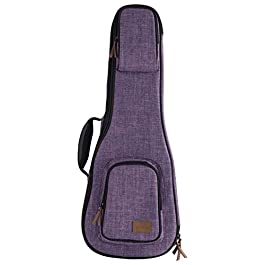 Kala Sonoma Coast Collection Concert Ukulele Case, Vista Point Purple