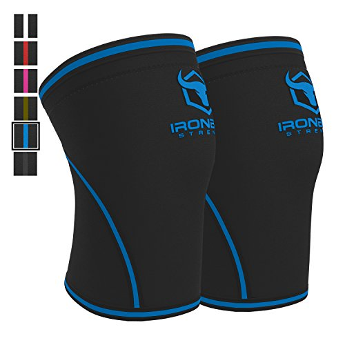 Knee Sleeves 7mm Pair Powerlifting