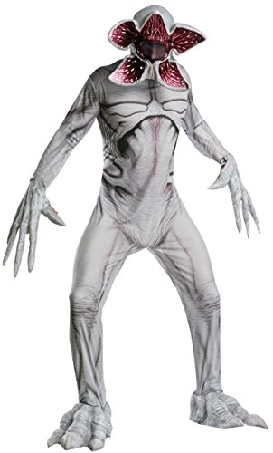 Rubies Mens Standard Stranger Things Adult Deluxe Demogorgon Costume, As Shown, Extra-Large