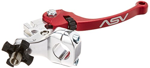 Standard Clutch Perches - ASV Inventions CDC606SX-R C6 Red Universal Standard Perch Clutch Lever