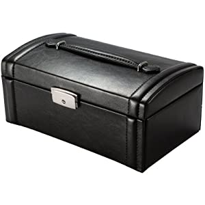 BARSKA Cheri Bliss Jewelry Case, 9.5 x 5.5 x 4.25-Inch