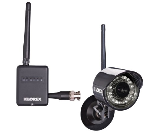Lorex LW2100 Ultra Digital Wireless 4 Channel Monitoring Solution with 1 Weatherproof Camera (Black)