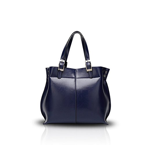 Black Nicole Handbag New Tote Big Leather Sapphire Women Fashionable Bag Shoulder Magnificent Retro amp;Doris PU HHnO1T