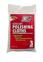 Detailer\'s Choice 2-3 Ultra Soft Polishing Cloth - 3-Pack