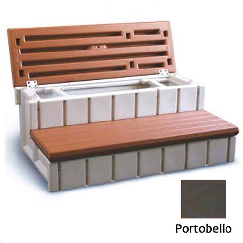 Confer Plastics LASS36-SC-P 36 in. Storage Step Portobello by Confer Plastics