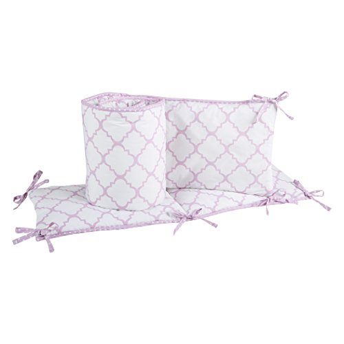 Trend Lab Orchid Bumpers Purple