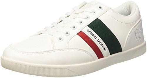 Sergio Tacchini Herren Precious LTX Sneaker Bianco (White)