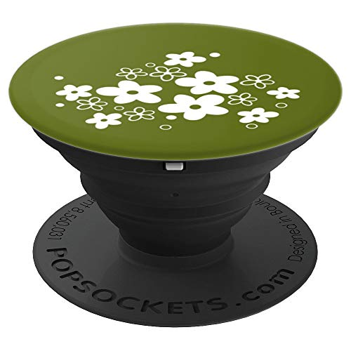 (Vintage Pyrex Collectors Spring Blossom - PopSockets Grip and Stand for Phones and Tablets)