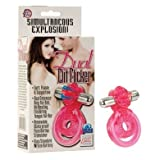 CalExotics Dual Clit Flicker Cock Ring