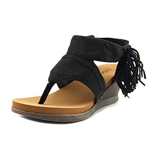 Bearpaw Kvinners Avril Komfort Thong Kile Sandaler Tan