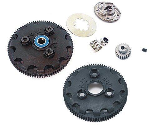 Traxxas Slash 2WD BRUSHED OR BRUSHLESS MODEL Spur Gears, Pinions & Slipper Clutch FROM A BRAND NEW RTR SLASH 2WD 58024,58034,5807