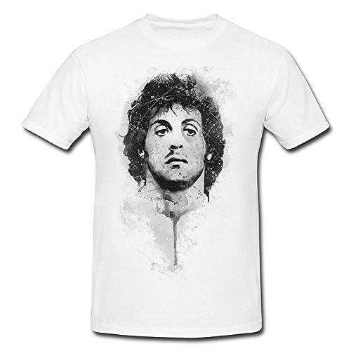 Sylvester Stallone Rambo T-Shirt Herren, Men mit stylischen Motiv von Paul Sinus