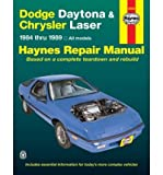 Dodge Daytona and Chrysler Laser 1984-89 All Models Automotive Repair Manual (Haynes Repair Manual (Paperback)) (Paperback) - Common