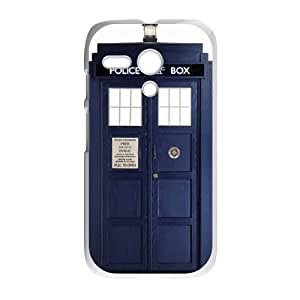 Doctor Who Tardis Police Call Box Motorola Moto G Waterproof Back Cases Covers