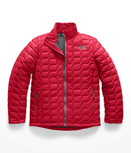The North Face Boys Thermoball Full Zip - TNF Red - (Nylon Full Zip Jacket)