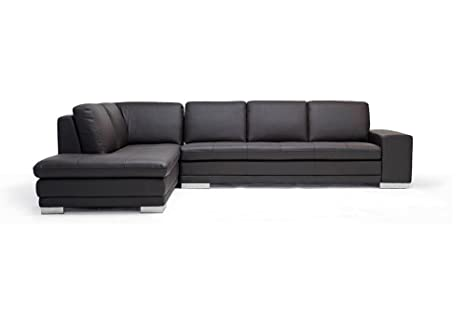 Amazon.com: Baxton Studio Callidora sofá seccional de ...