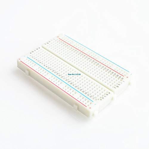 Ants-Store - 5pcs/lot 400 Point Interlocking Solderless Breadboard for ATMEGA PIC UNO R3 - Interlocking Kit Display