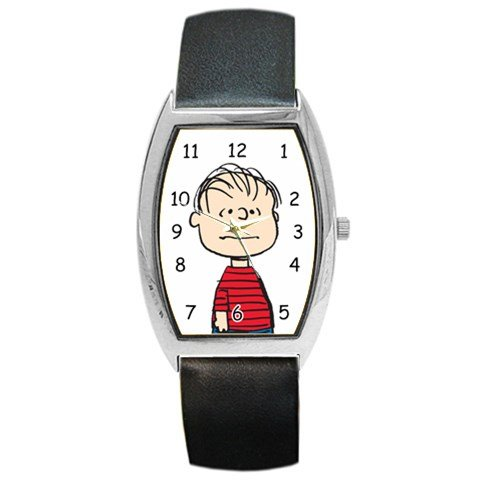 [Snoopy Linus The Peanuts Character Barrel Style Metal Watch] (Adult Peanuts Linus Costumes)