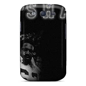 Galaxy S3 Case, Premium Protective Case With Awesome Look - Oakland Raiders