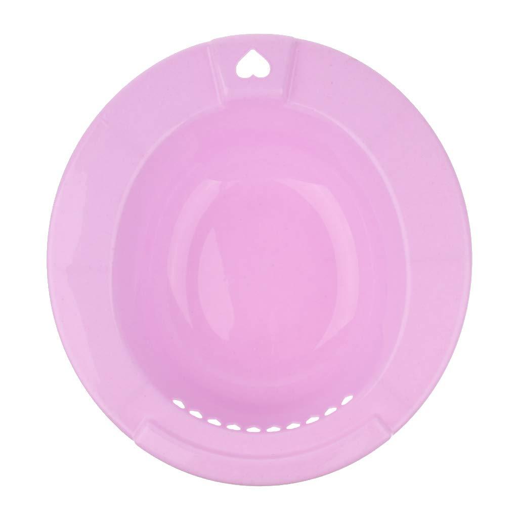 sehr einfach zu verwenden Bidet f/ür WC Sitzbecken Hell-Pink Gr/ö/ße:38 * 36 * 11CM B Baosity Auf die Toilette aufsetzbares Bidet