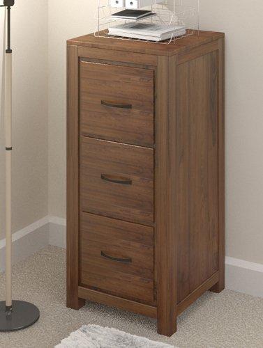 Grand Walnuss Holz Möbel große Aktenschrank mit 3 Schubladen, Aufbewahrung für Heim und Büro