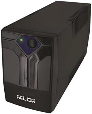 350 VA, 700 W, 165 V, 265 V, 50//60 Hz, 50//60 Hz Fuente de alimentaci/ón Continua 350 VA 4 Salidas AC UPS UPS Nilox 17NXGCOF02001 Sistema de alimentaci/ón ininterrumpida