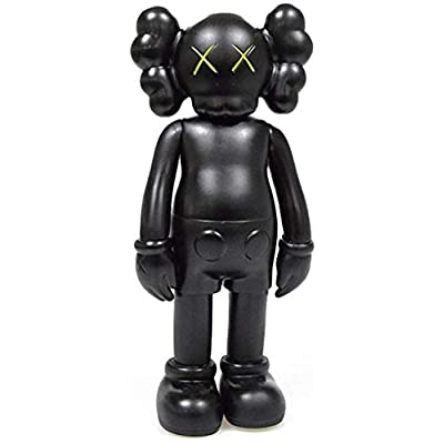 "WINDAYT 8"" 20cm Prototype KAWS Model Art Toys Action Figure Collectible Model Toy (Black): Garden & Outdoor"
